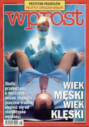 Okładka tygodnika Wprost nr 48/2000 (939)