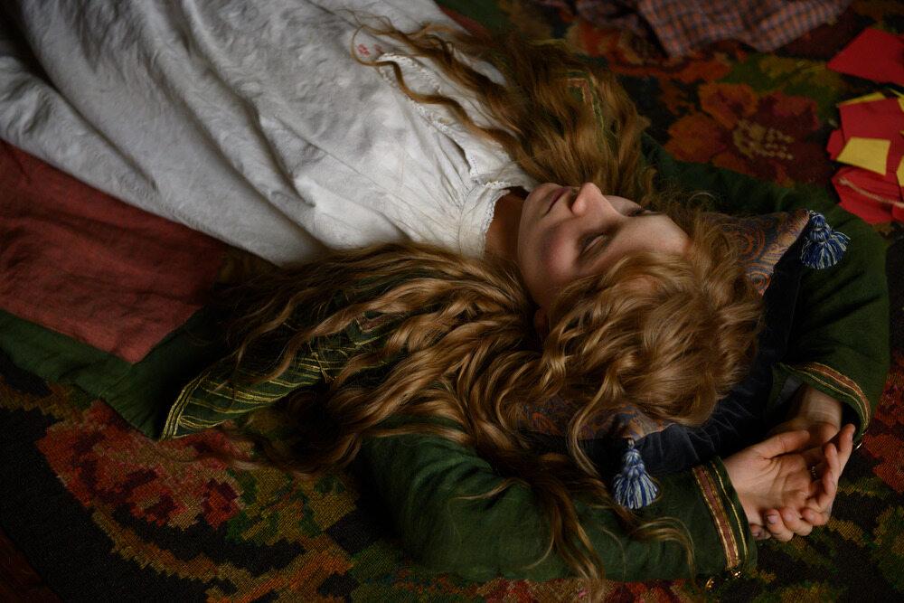 """Kadr z filmu """"Małe kobietki"""""""