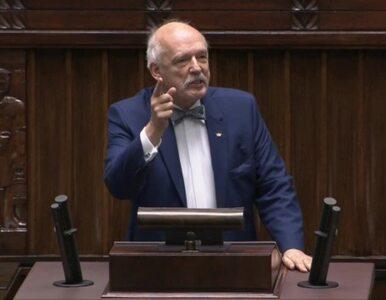 Korwin-Mikke w Sejmie: Podatki za Hitlera były znacznie niższe