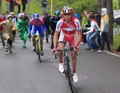 Giro d'Italia: Hiszpan wygrywa etap, Hiszpan liderem wyścigu