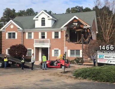 Dramatyczny wypadek w USA, auto dosłownie wleciało w budynek. Nie żyją...