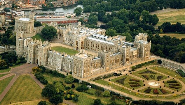 Zamek Windsor, Anglia