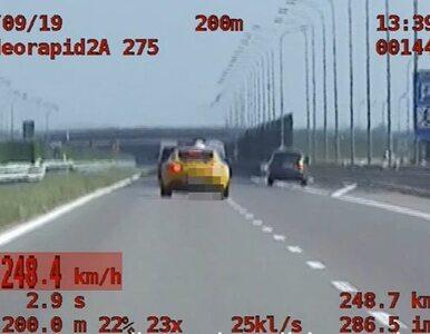"""Pędził prawie 250 km/h. """"Jechałem bezpiecznie"""""""
