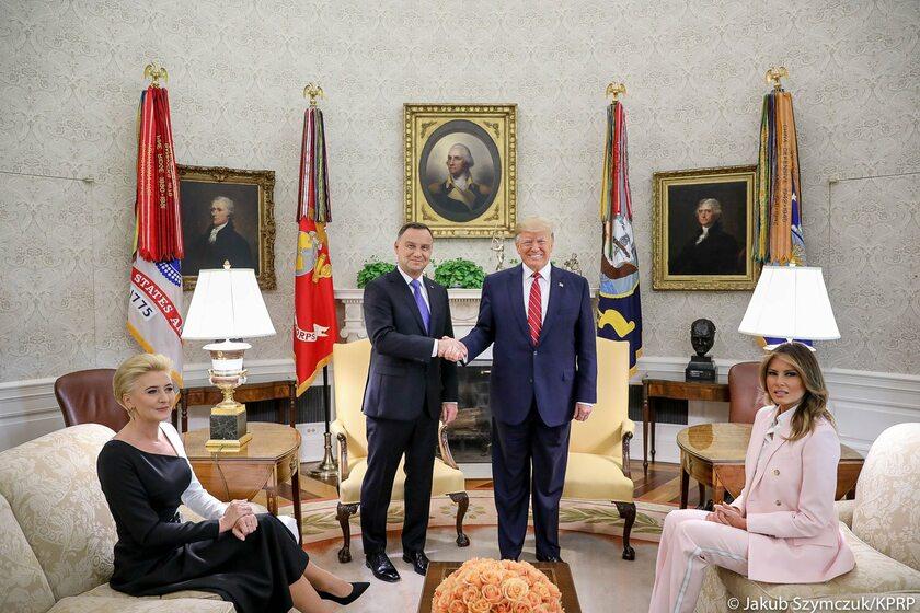 Pary prezydenckie z Polski i USA