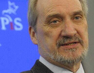 Macierewicz zapewnia, że nie będzie wiceprezesem PiS od Smoleńska