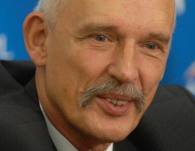 Korwin-Mikke: Módlmy się, żeby na ulice nie musiało wkroczyć wojsko i...