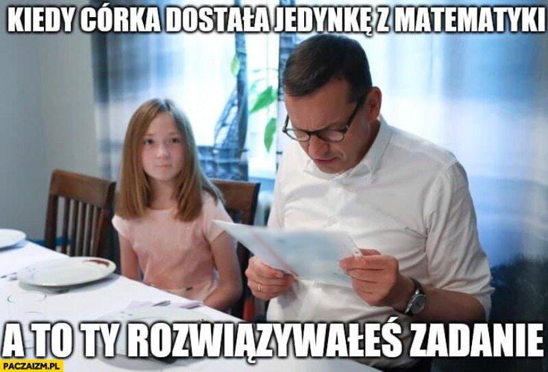 Najnowsze memy z Mateuszem Morawieckim