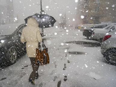 Śnieg nie przestanie sypać, a do tego ściśnie mróz. Na południu nawet do...