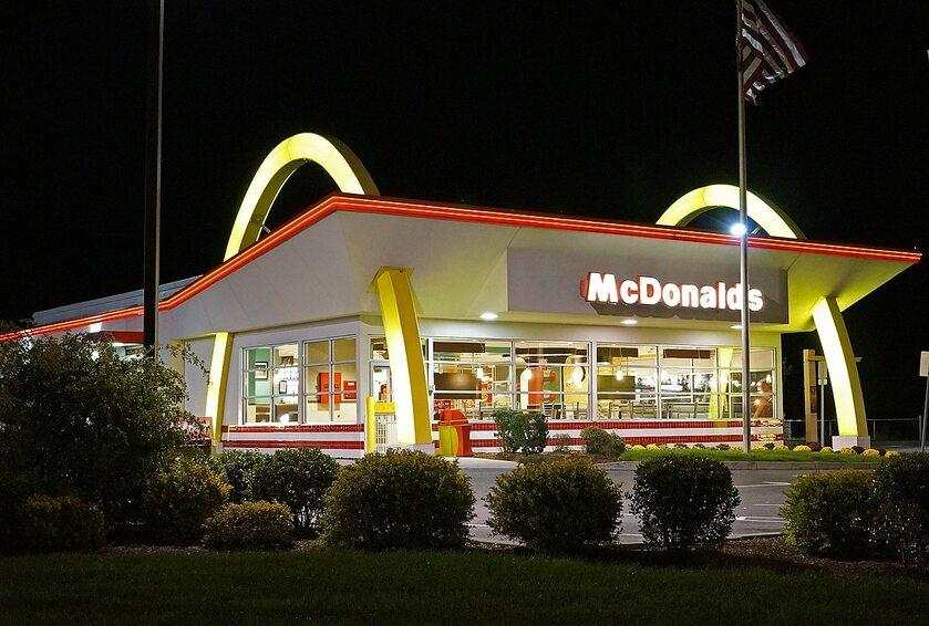Restauracja McDonald's, zdjęcie ilustracyjne