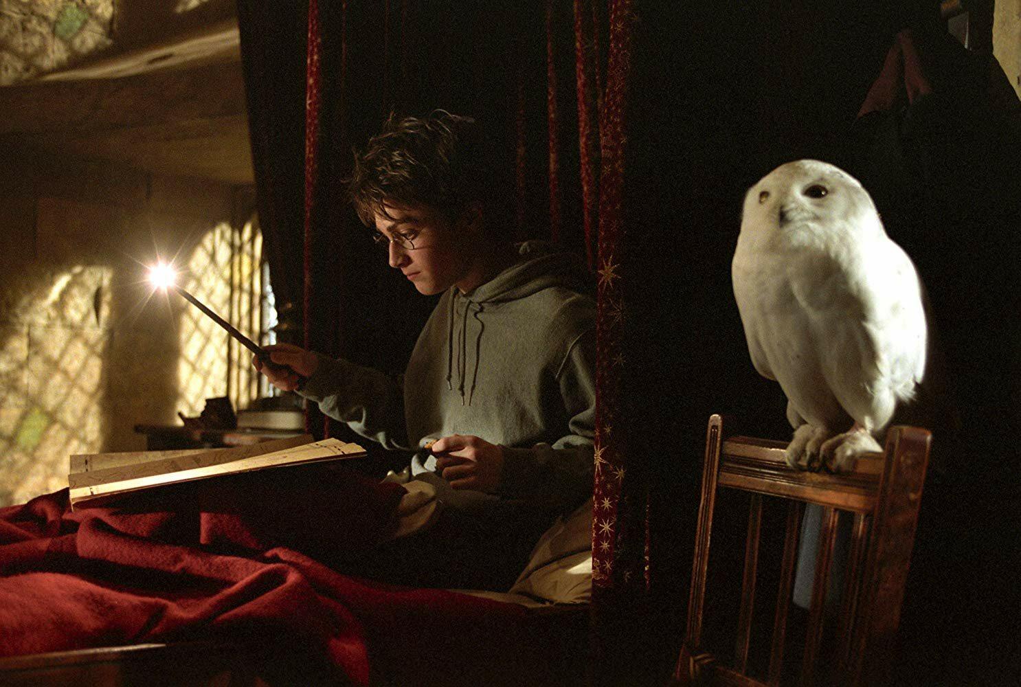 Który z wymienionych to tytuł czwartej części książki o przygodach Harry'ego Pottera?