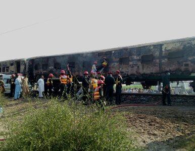 Ludzie palili się żywcem. 70 zabitych po wybuchu gazu w pociągu