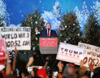"""Prezydent-elekt w świątecznym nastroju. """"Przed moim zwycięstwem świat..."""
